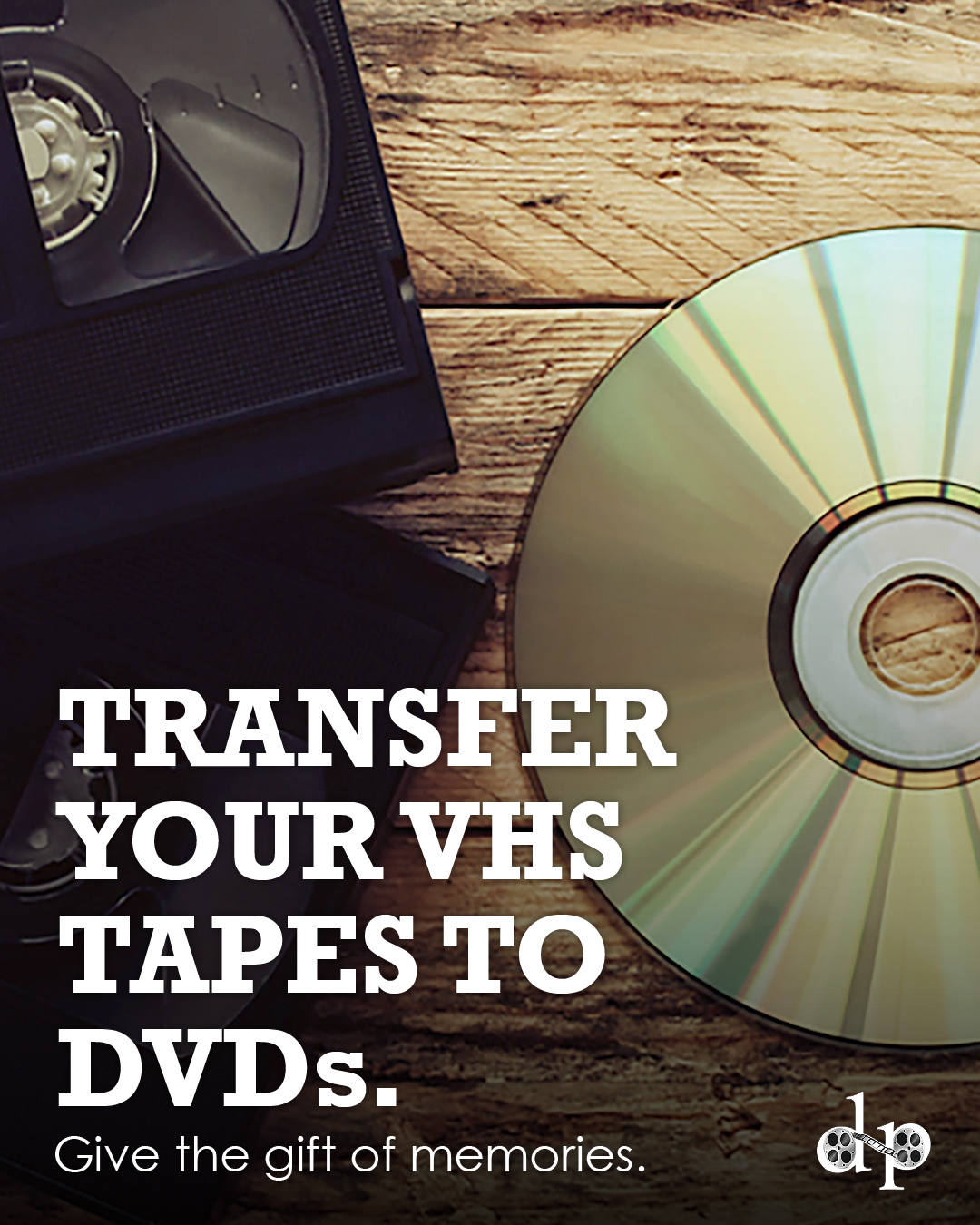 Transfer your VHS Tapes to DVD – Dead Horse Productions – Anderson, SC